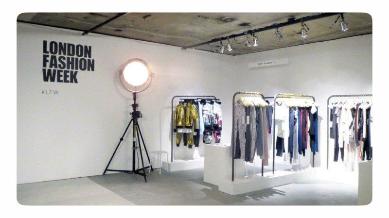 Styljanje London Fashion Week Ss18 Diary Day 1