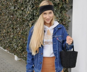 Sporty-elegant winter look, outfit ideas and more