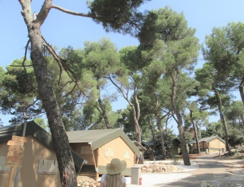 Glamping in Croatia -Arena One 99 Glamping
